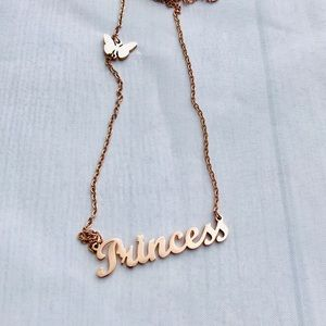 Jewelry - Rose Stainless Princess Necklace